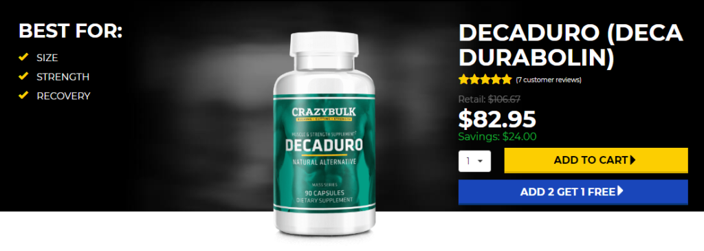 Buy Deca Durabolin in Canada